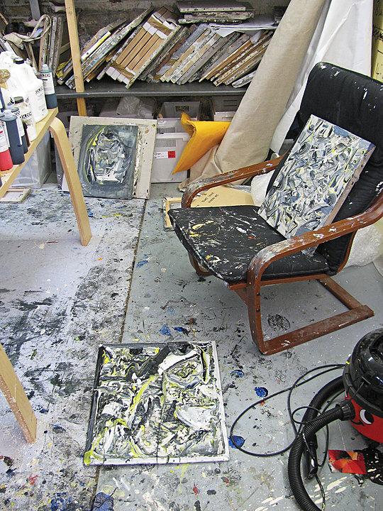 Katy Moran studio London